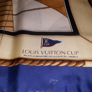 Louis Vuitton Cup Scarf NWOT Original Box